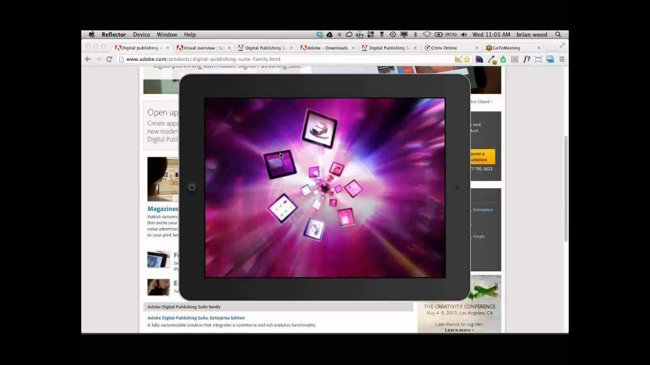 Desiging for Adobe Products: InDesign, iPads and Digital Publishing Suite