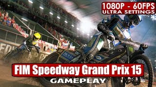 FIM Speedway Grand Prix 15 gameplay PC HD [1080p/60fps]