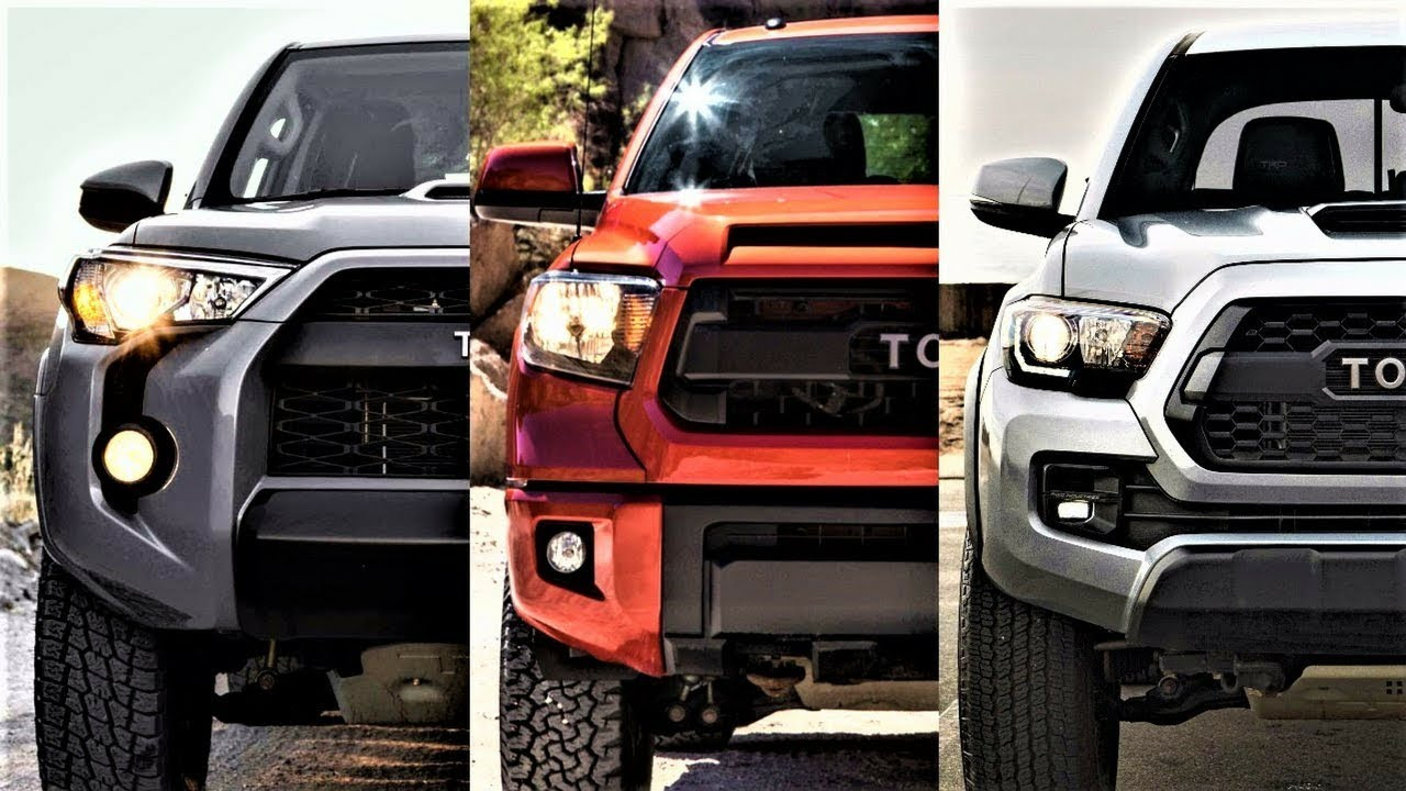 4Runner Trd Off Road >> TOYOTA TRD PRO SERIES ! TUNDRA VS TACOMA VS 4RUNNER ...