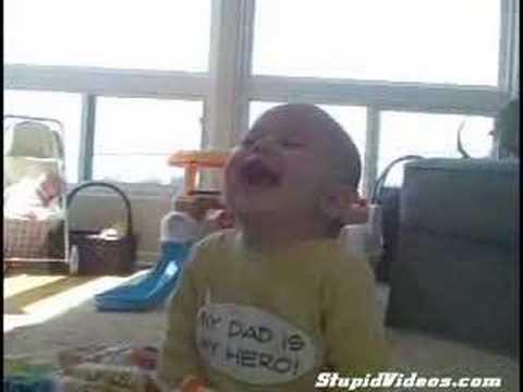 Fou rire bébé