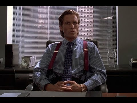 American Psycho - Office Interrogation - 1080 HD
