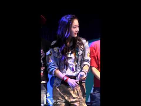 [Fancam] 090913 Krystal - Seo Kyung Suk`s Music Sh...