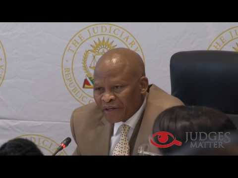 JSC interview of Judge S A Majiedt for the Constitutional Court (Judges Matter)