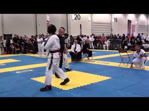 2012 British Taekwondo Council Championships John Cregg vs