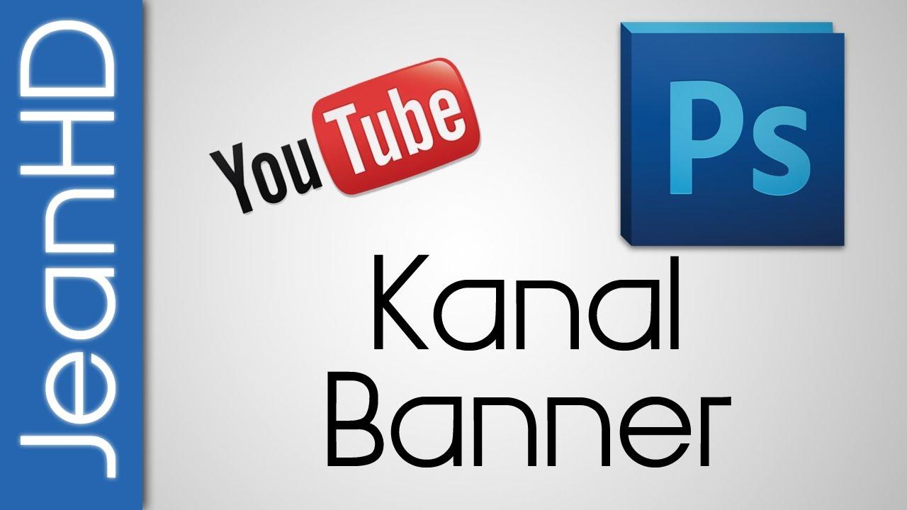 Youtube Kanalbanner selbst erstellen - Vorlage - YouTube