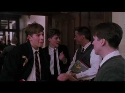 """Dead Poets Society - """"The heavens made a girl named Chris..."""""""