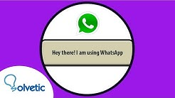 ❓ Qué significa en WhatsApp hey there I am using WhatsApp