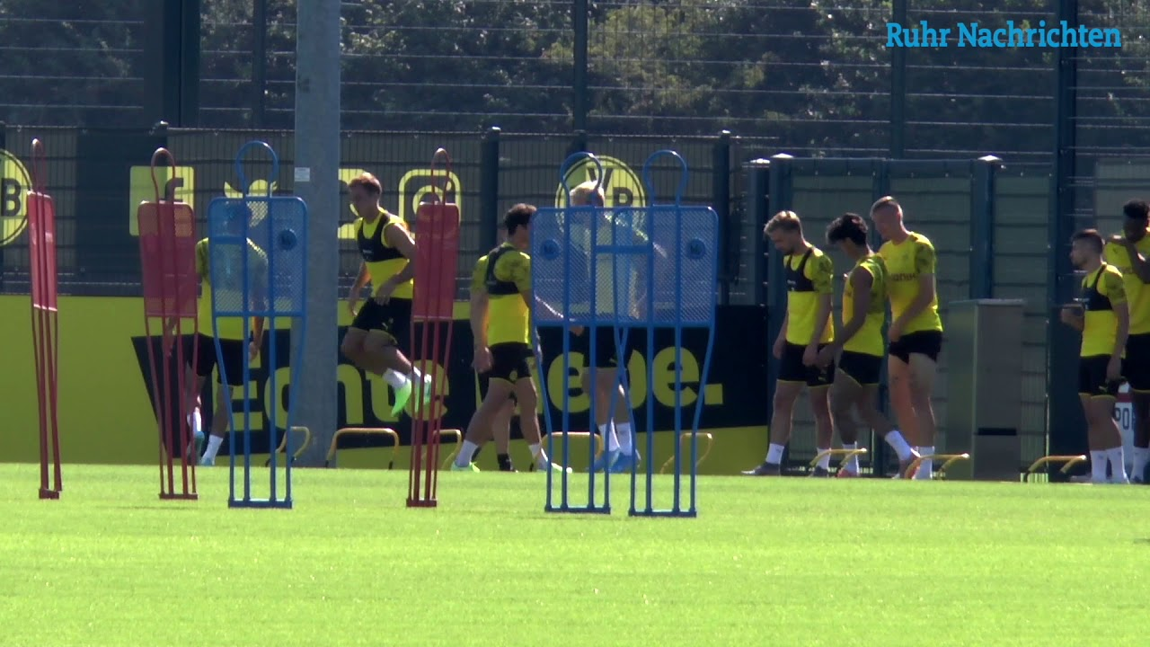 BVB-Training am Tag nach dem Köln-Spiel