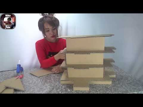 How to Make Paper house building - DIY at home (Beautiful & Easy way)