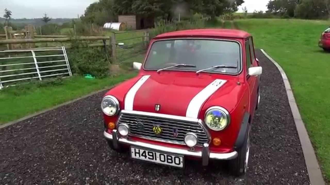 Classic Rover Austin Mini Mayfair 1990 Youtube