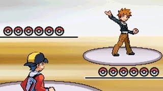 8th Kanto Gym Battle vs Blue [Pokemon HeartGold]