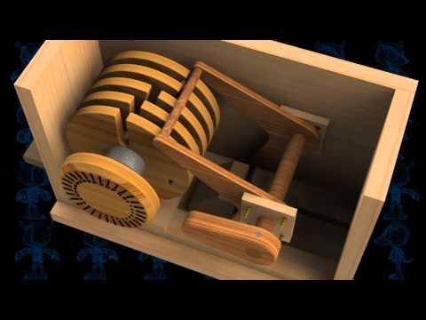 Safe Lock Mechanism Wooden Toy 3D Model