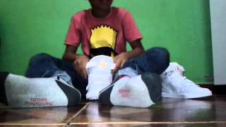 Unboxing Do Tenis Qix Double G Branco