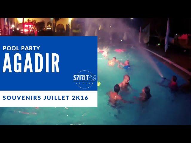 Agadir Club Med Pool Party Souvenirs Party Pool