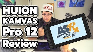Huion KAMVAS Pro 12 Graphics Tablet Setup and Review