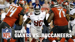 Jason Pierre-Paul Returns to the Giants in Week 9! | Giants vs. Buccaneers | NFL