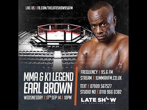 MMA & K1 Legend : Earl Brown