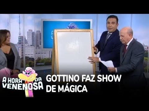 Gottino impressiona em show de mágica