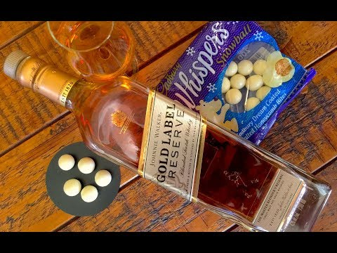 The World's Best Blend: Johnnie Walker Gold Label Reserve: Tasting & Food Pairing Review #143