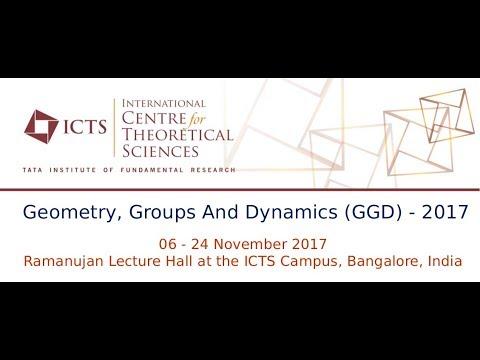 Mini Course 1: Dynamics of Anosov representations (Lecture  - 2) by Francois Labourie
