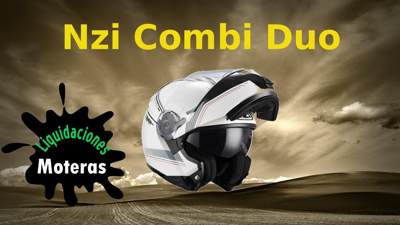 9dd215c1766d0 Casco modular nzi combi duo - YouTube