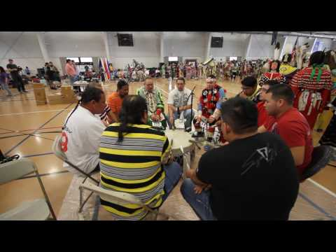 Wild Band of Comanches Flag Song AIHREA Powwow 2016