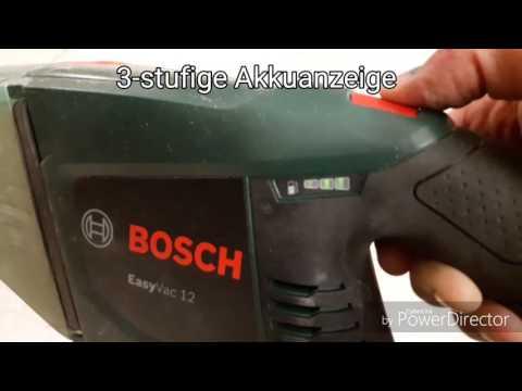 Видео обзор: Пылесос BOSCH EasyVac 12 Solo без АКБ и ЗУ