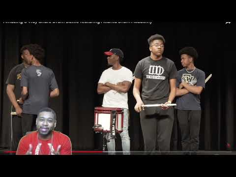 Amazing 8 Way Snare Drum Battle featuring Atlanta Drum Academy(Reaction)
