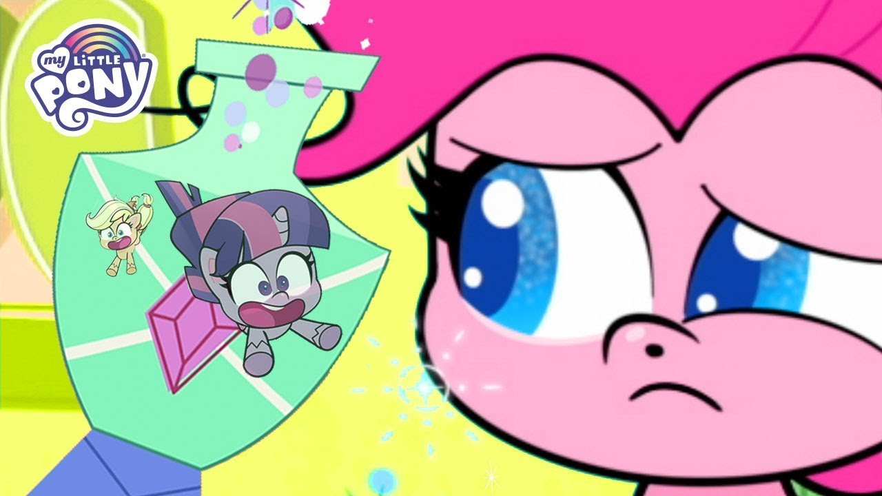 My Little Pony   Twilight Sparkle and Applejack Are Trapped in a Potion Bottle   MLP