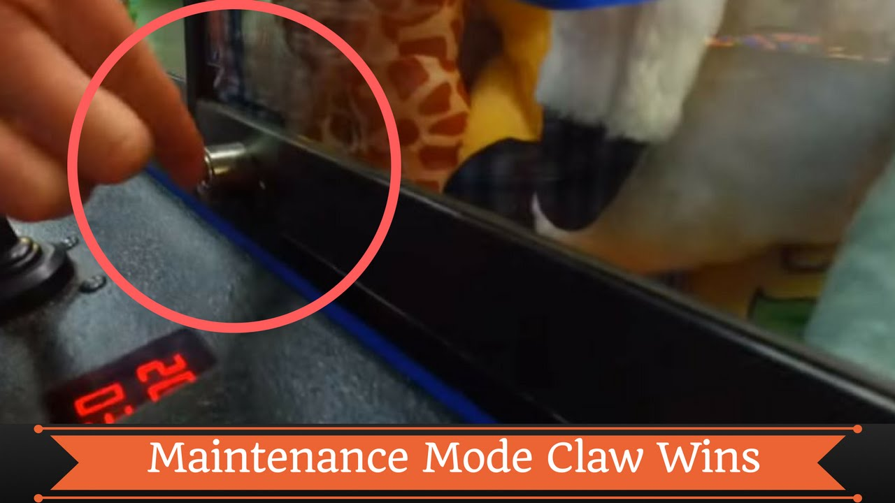 claw machine maintenance