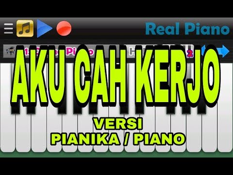 Tutorial Pianika Aku Cah Kerjo - Pendhoza Feat Sasha Anezkha