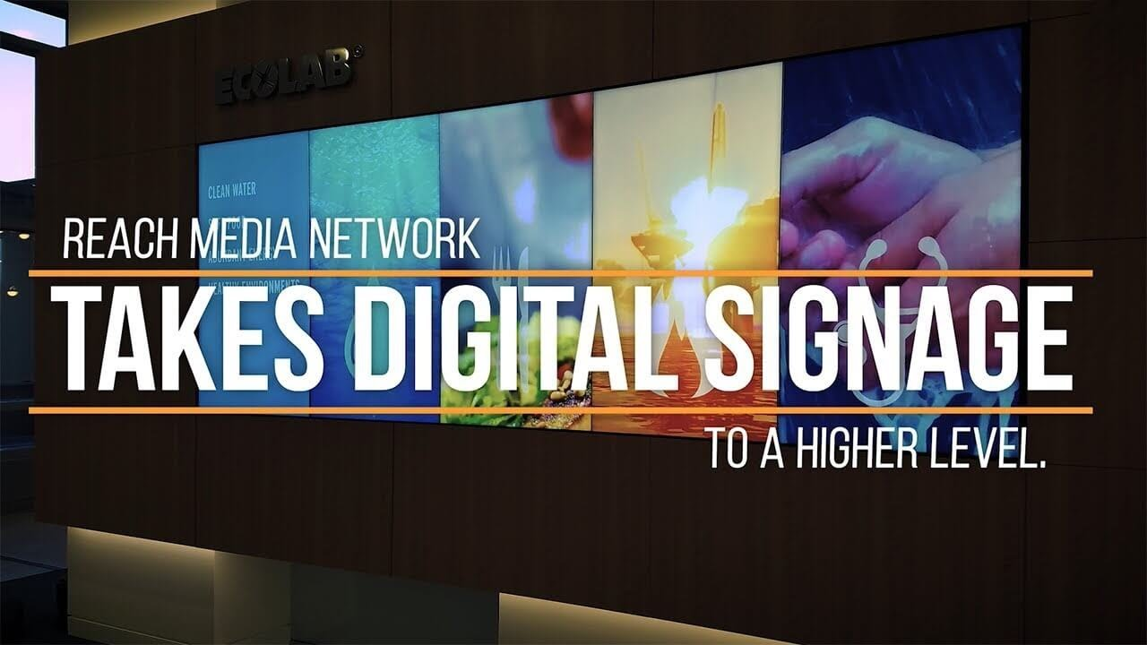 Digital Signage Solutions | Web Based Software | REACH Media