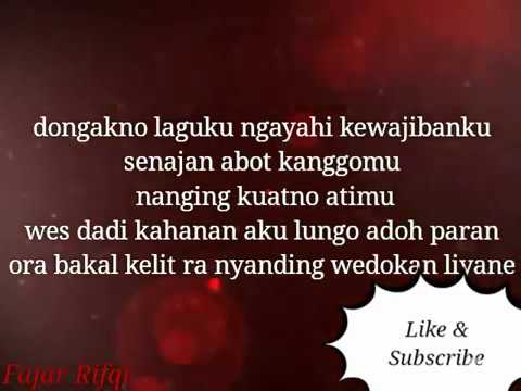 Aku Cah Kerjo New Version Pendhoza Ft Via Vallen #Lirik
