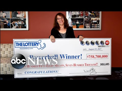 Record-breaking Powerball jackpot winner