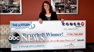 Record-breaking Powerball jackpot winner
