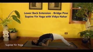 Supine Yin Yoga with Vidya Nahar - 75 Minute Practice for Limbering Hips