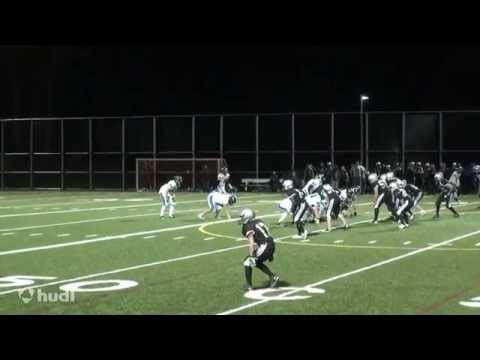 Aidan Majury (Class of 2016) 2013 Football Highlights