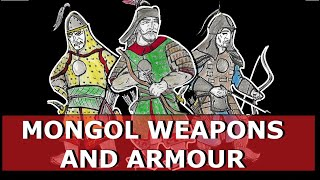 Mongol Weapons and Armour, 1200-1250