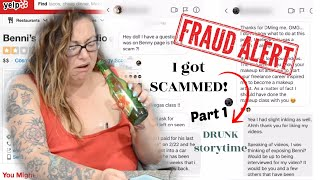 I was SCAMmed by INSTAfamous MUA BenniBeauty | PART 1 | Storytime