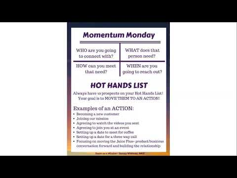 Momentum Montday