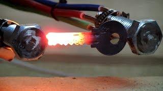 Нагреваем и плавим металл трансформатором