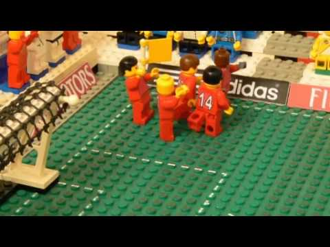 World Cup 2010 Brick By Brick Fussball England 1 0 Slovenia