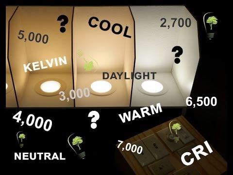 .LED 燈選購使用入門指南