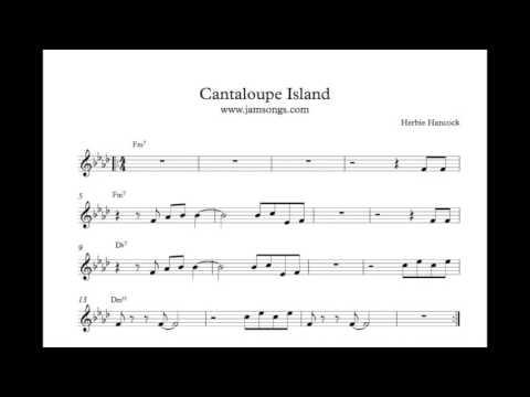 Jam Track Cantaloupe Island Solo Youtube