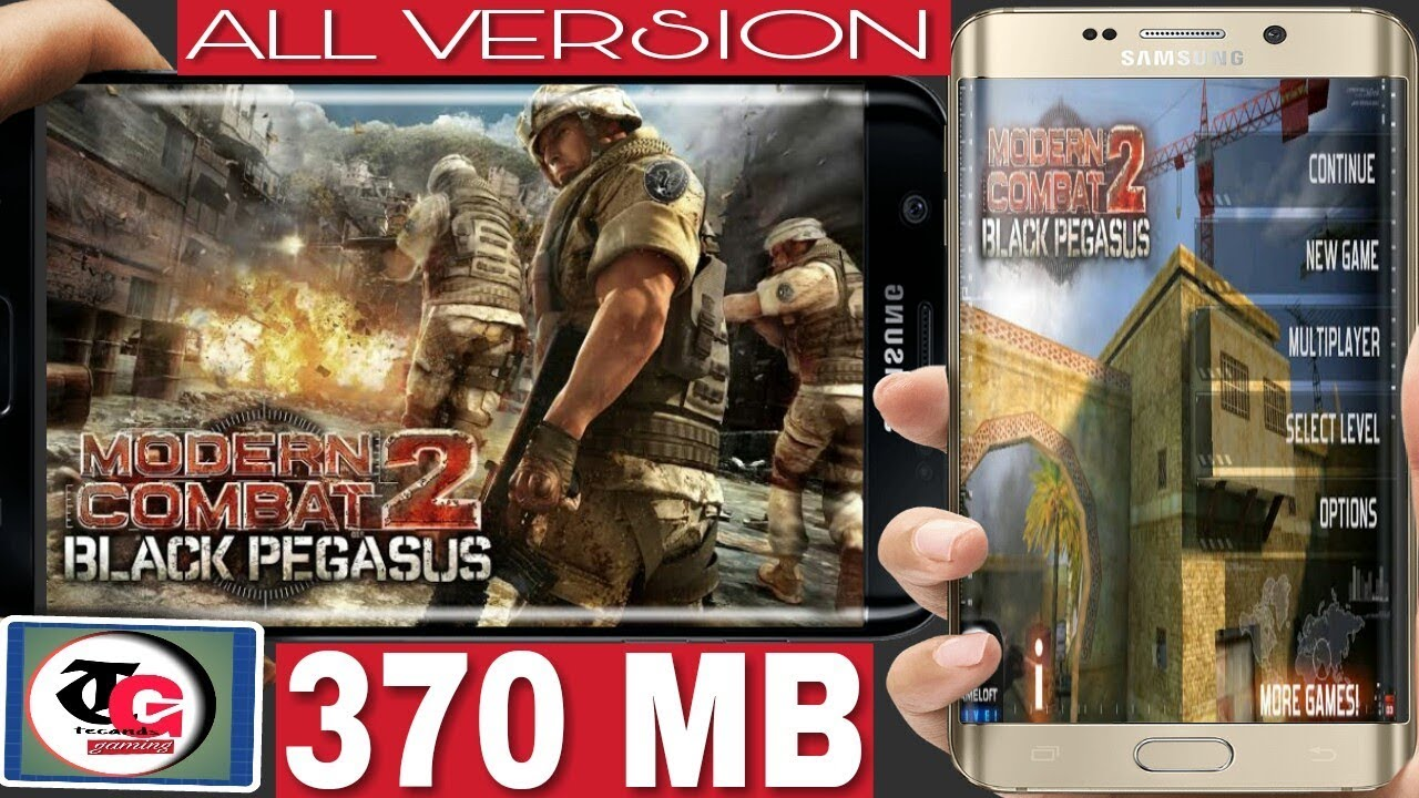 How to download install modern combat 2 game(apk+data) for all version|with  gameplay