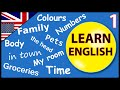 Learn English for beginners:  Lesson 1