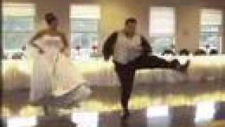funny wedding dance