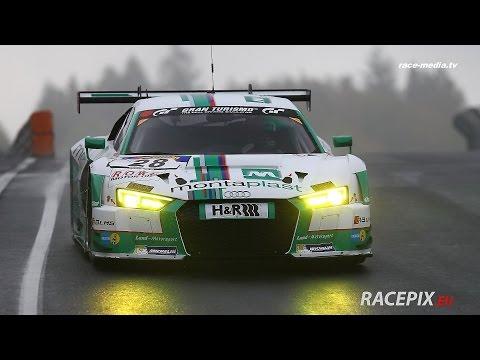 race-media.tv Onboard Classix: Audi R8 LMS Basseng / Scheider / Rockenfeller VLN 1. Lauf 2016
