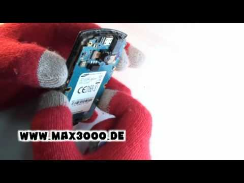 Reparaturanleitung-Samsung-GT-S5620-Teil-1 Zerlegen.mpg