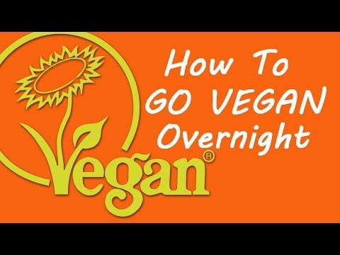 How To Go Vegan Overnight
